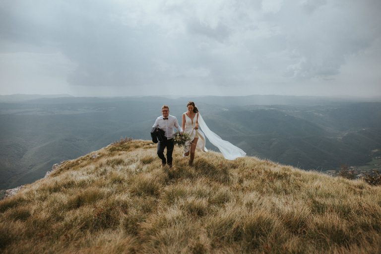 Intimate Higlands Wedding Slovenia