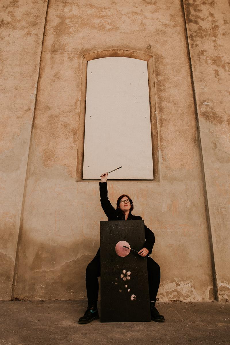 Mojca Fo Portrait of an Artist