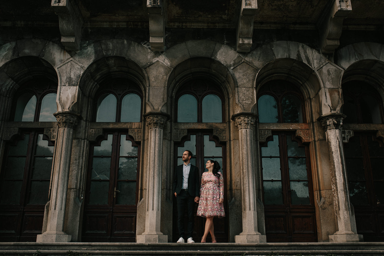 Miramare Castle couple session