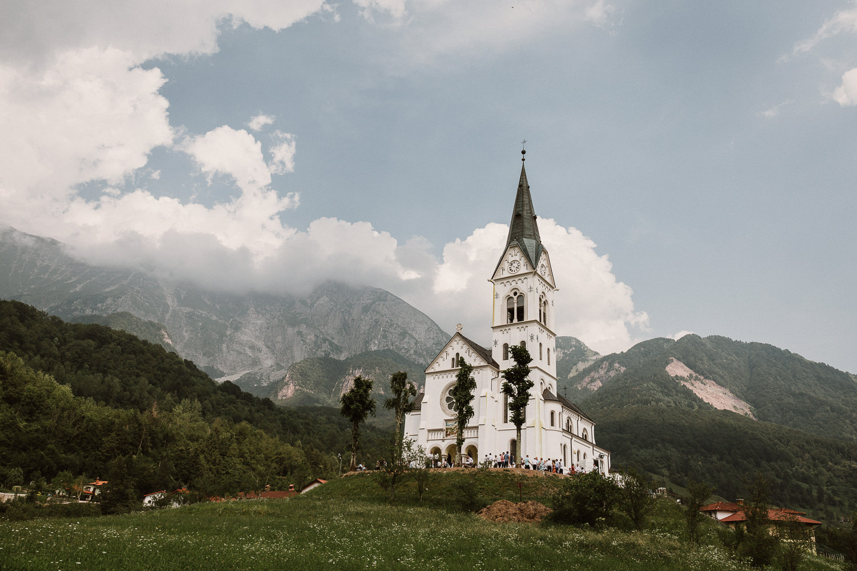 Church in Dreznica Slovenia
