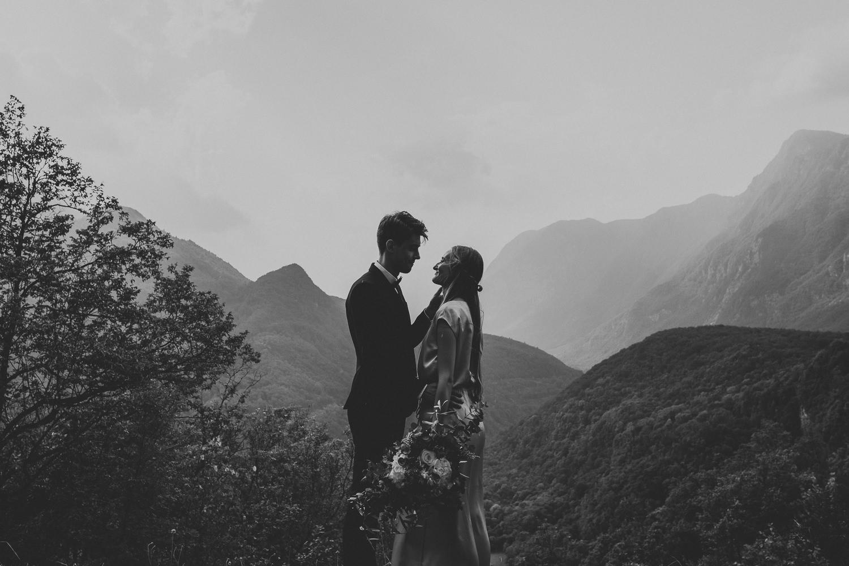 Soca Valley Wedding Slovenia couple portraits