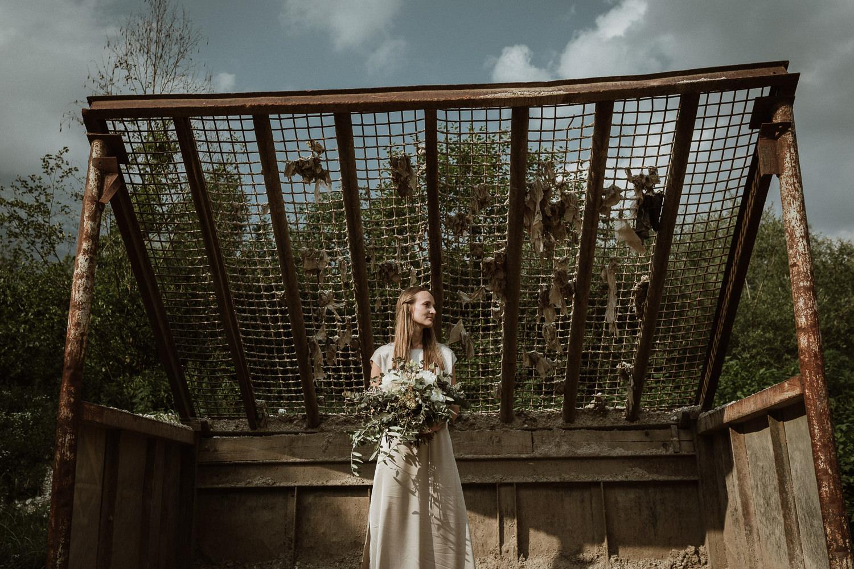 Soca Valley Wedding Slovenia bride portrait