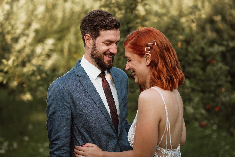 Majerija Vipava Valley wedding couple portrait