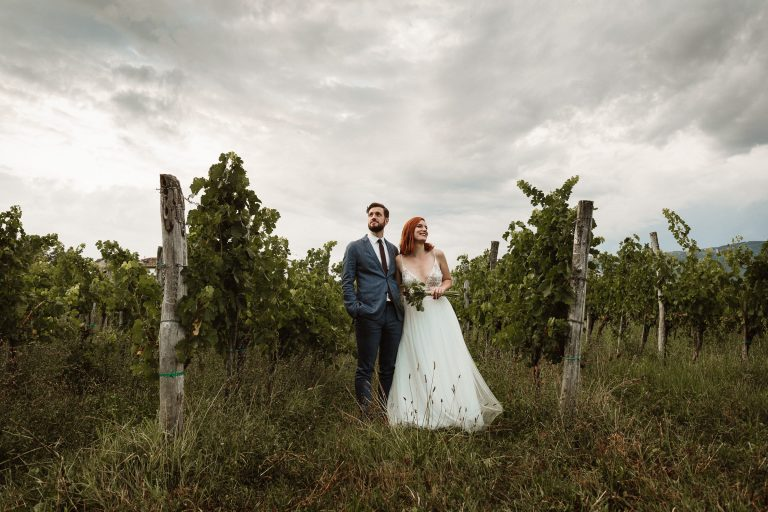 Vineyard wedding Slovenia