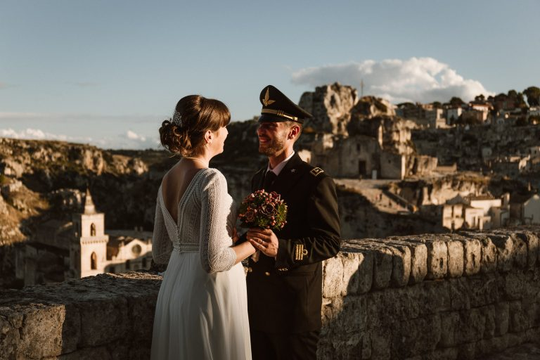 Wedding in Matera Italy