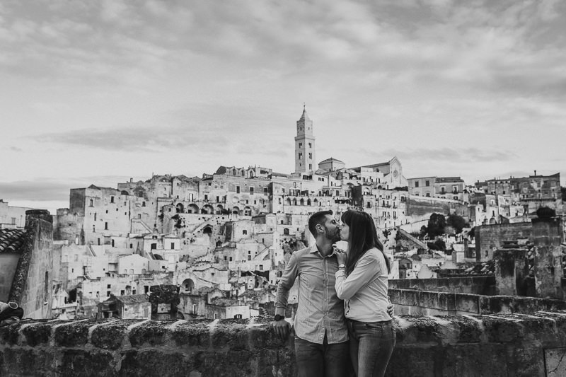 Engagement in Italy, Matera
